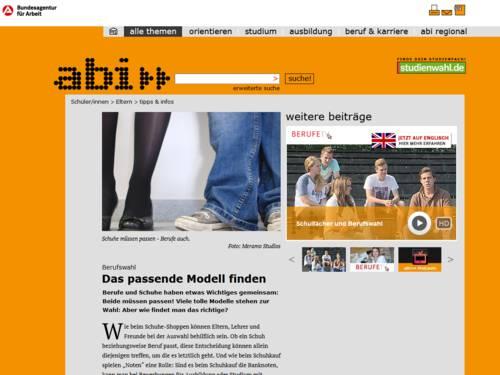 Vorschau auf www.abi.de/eltern/tipps-und-infos.htm